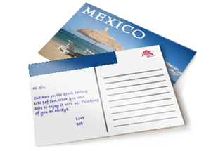 postcards printing services near me